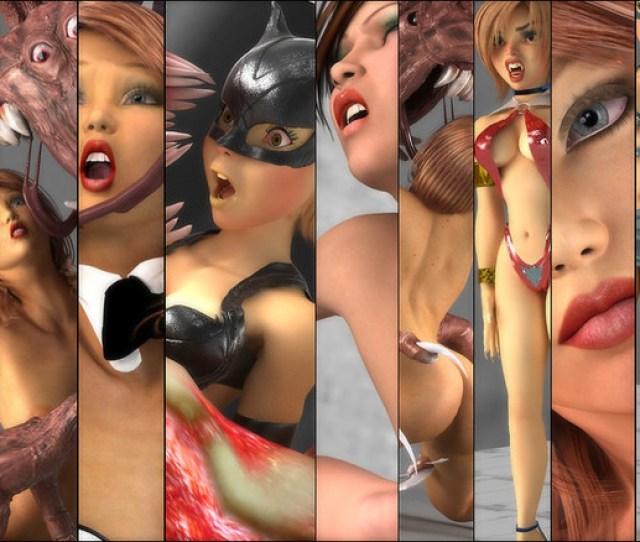 Erotic Art Eaten By Monsters Damsels In Distress By Perilart