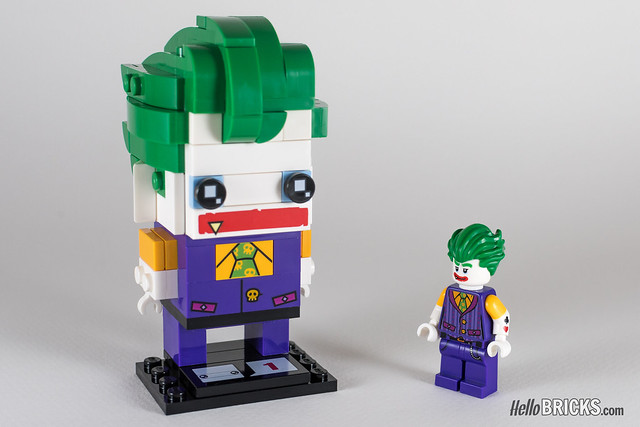 REVIEW LEGO BrickHeadz series 1 The LEGO Batman Movie 41588 The Joker
