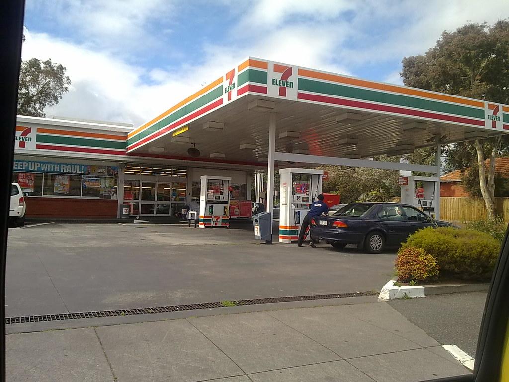 7 11 Gas Station