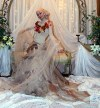 Engagement hijab and dress | فستان وحجاب خطوبه | MoNa ...