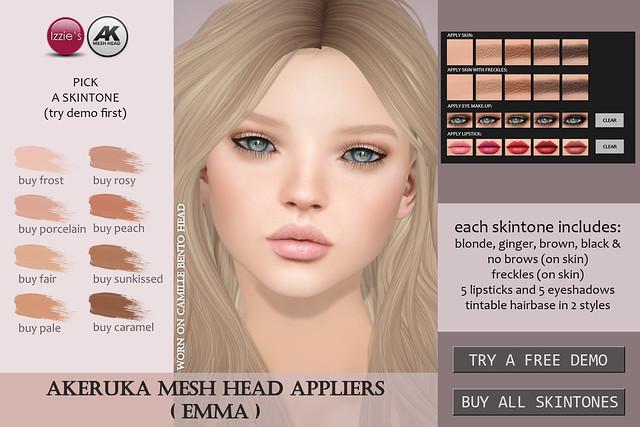 Emma Skin (for Akeruka Camille Bento)