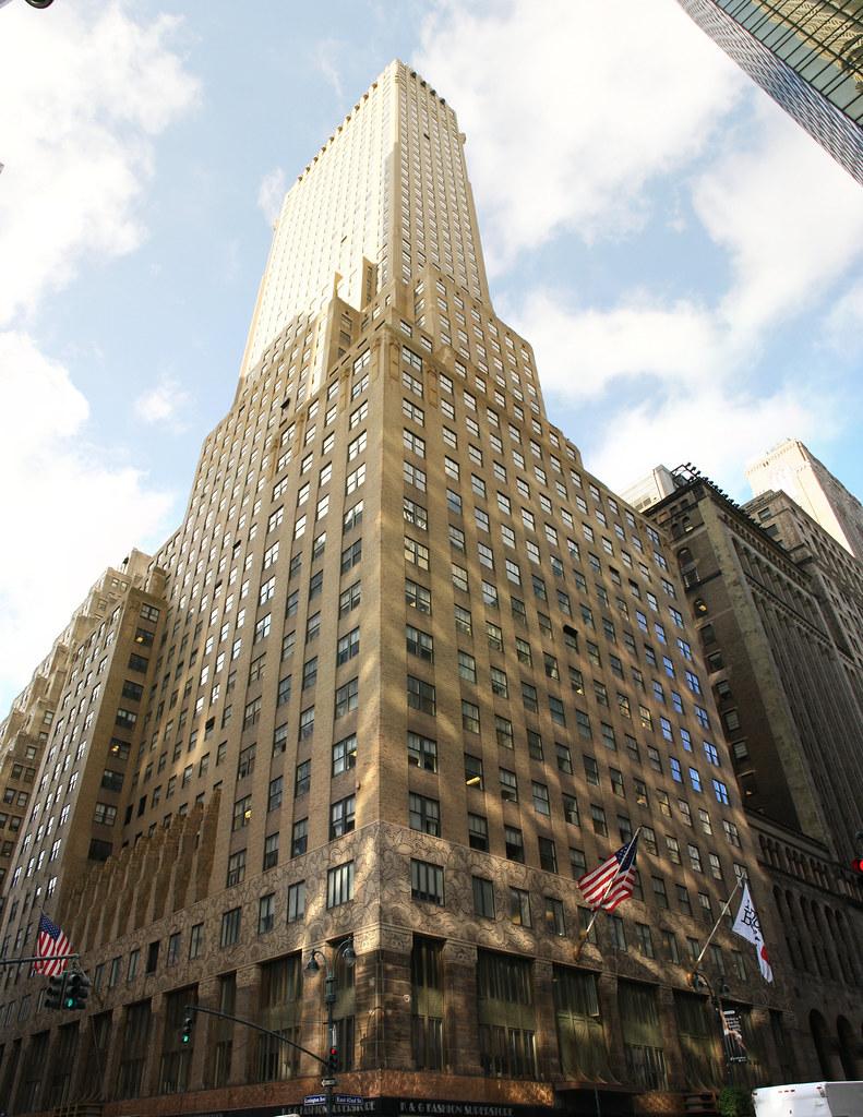 Chanin Building East 42nd Street Midtown Manhattan The