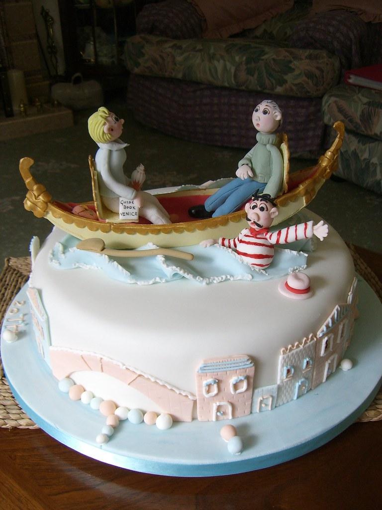 Gondola Cake Gondola Cake For A 20th Anniversary The