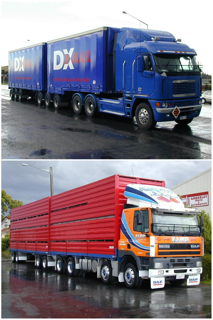 Truck Configurations In New Zealand B Double Called B
