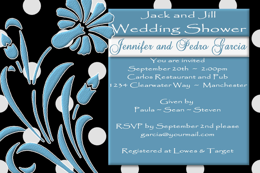 Inexpensive Fall Wedding Invitations