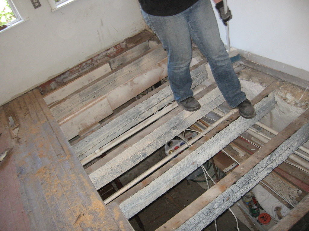Kitchen Joists They Are Not Level I Guess Its The