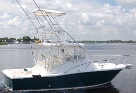 2000 Pursuit 3000 Offshore Diesel With Marlin Tower Flickr