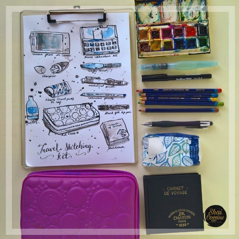 Travel Sketching Kit