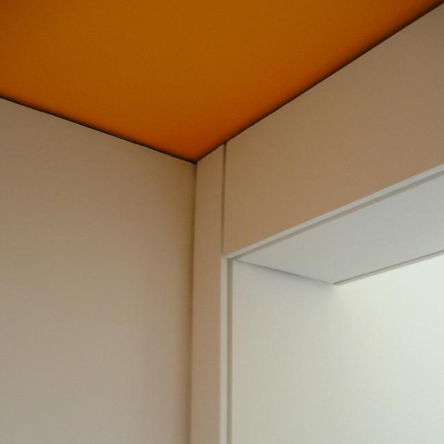 Hyndland After School Club Orange Shadow Gap Detail Int