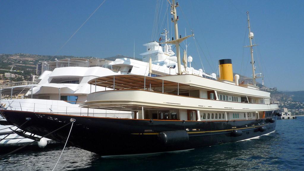 Lady Moura Amp Nero Yacht In Monaco Lady Moura 344 Feet