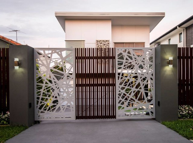 19 Stunning modern gate design ideas - Local Home US - Home Improvement
