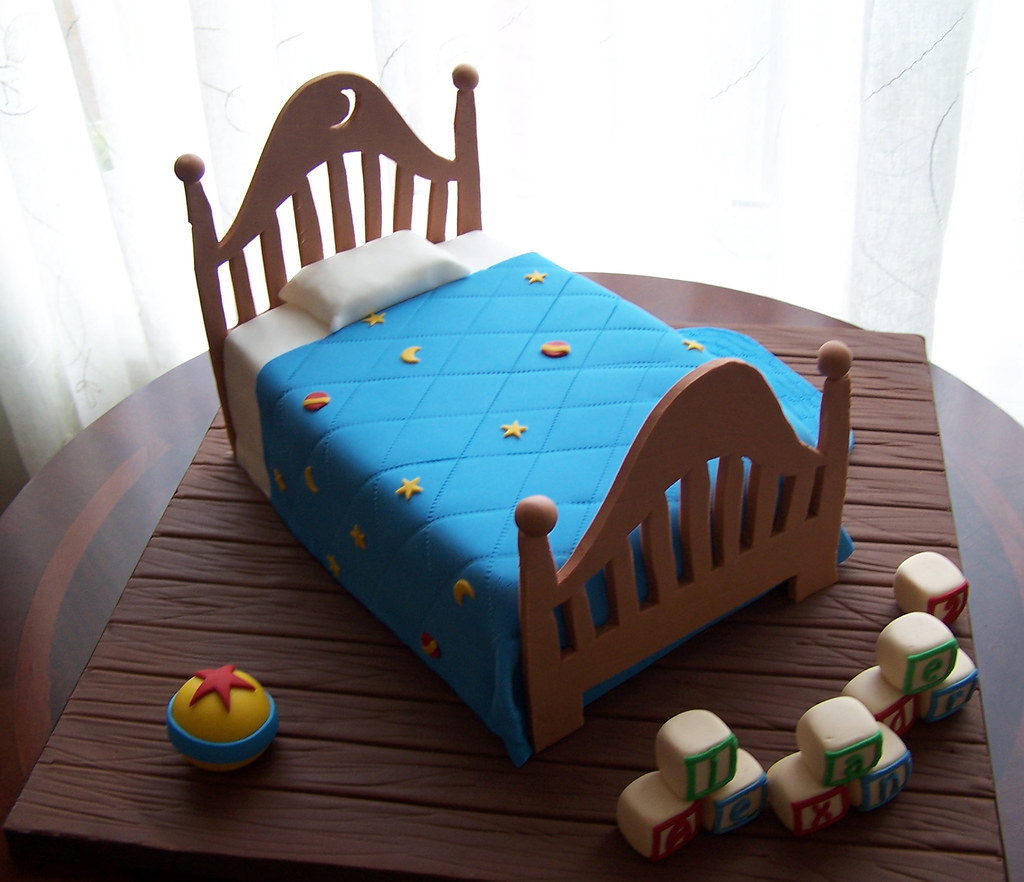 Bed Toy Story Birthday Cake