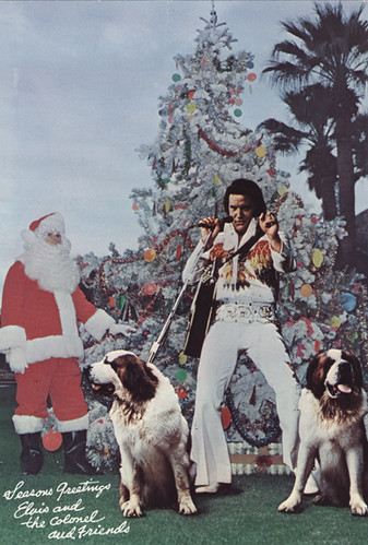Elvis Christmas Card Wwwscanagogocom Scanagogo Flickr