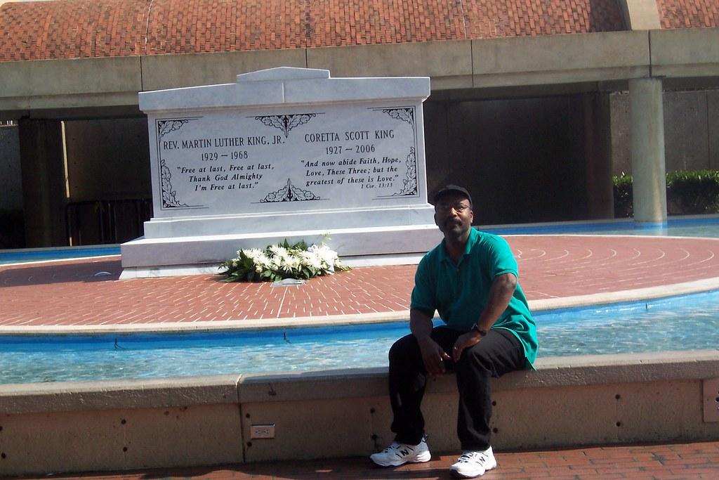 King Center Atlanta GA Reflecting At Reflecting Pool