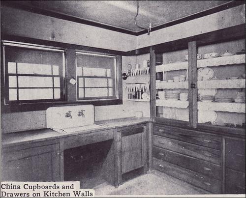1912 Kitchen Rare Kitchen Interior From House Beautiful