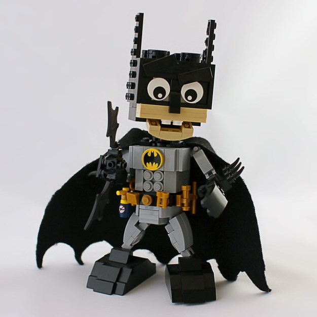 Batman Deluxe Brickhead