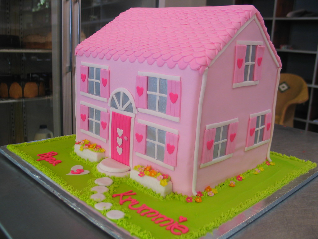 Doll S House Cake Soft Amp Hot Pink