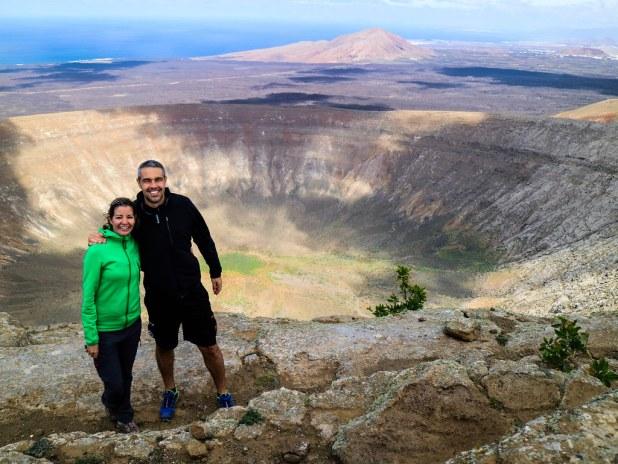 Crater Caldera Blanca