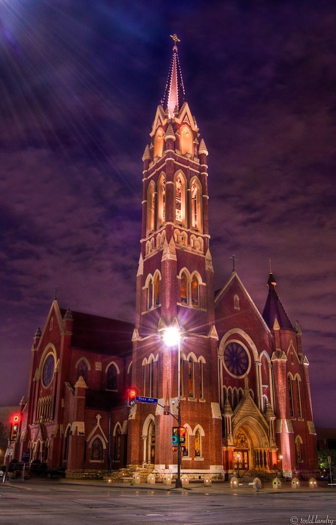 S Tx Paul Catholic St Church Smithville