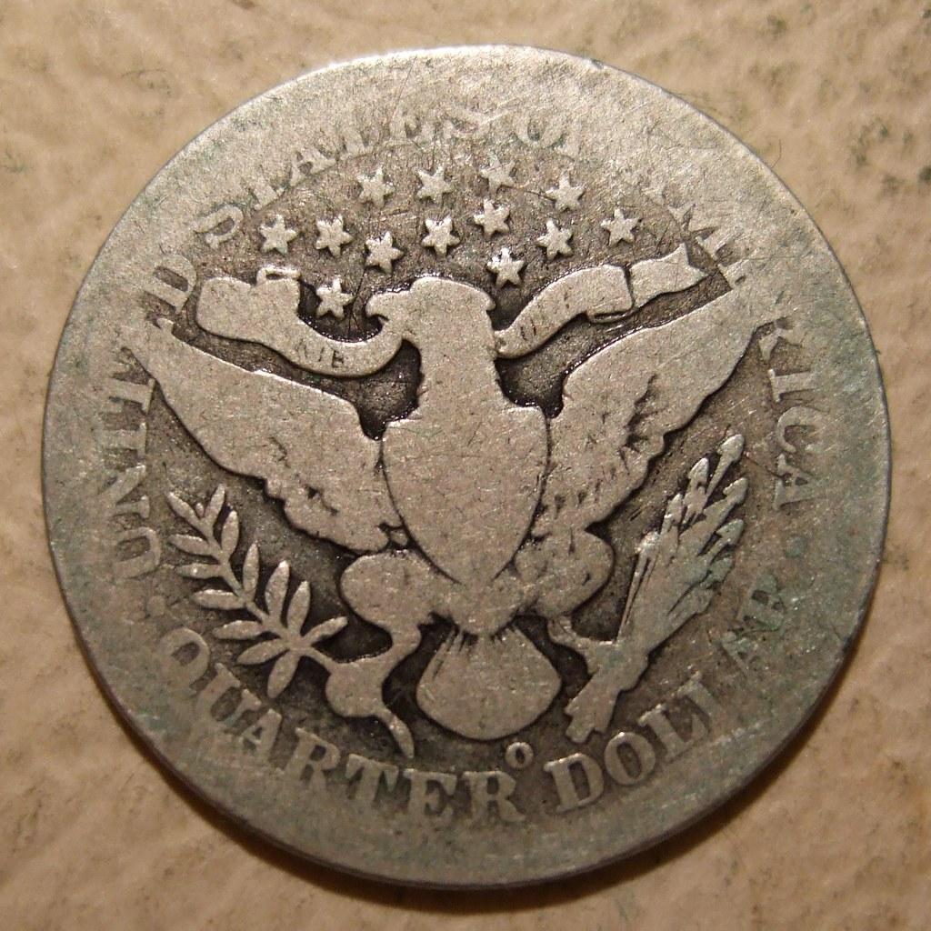 Usa O Mint Quarter Dollar 25 Cents A