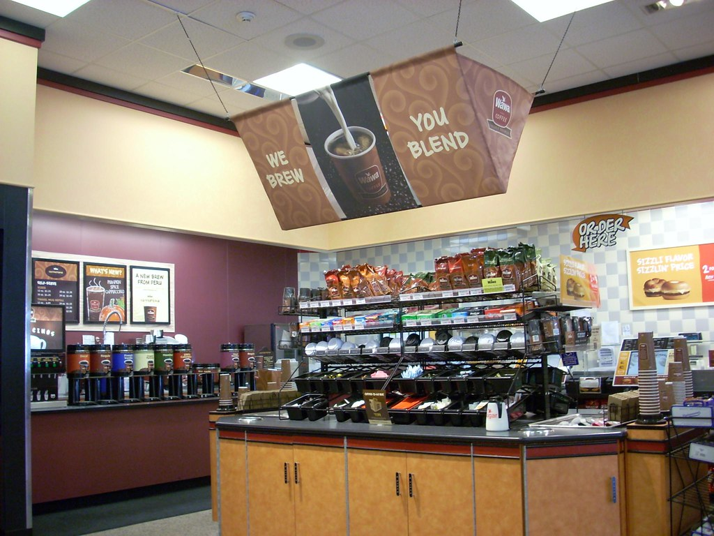 Wawa Interior Wawa 652 6453 Square Feet 5120 George