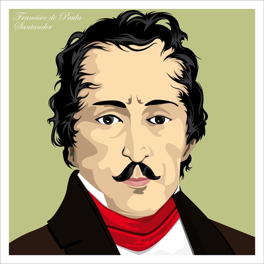 Francisco De Paula Santander Diseo Grfico E