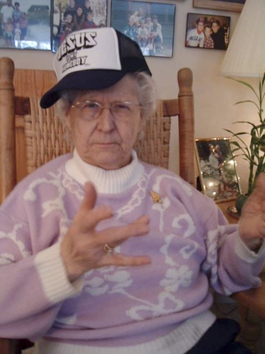 Gangster Grandma Grandma Then 88 Christmas Morning