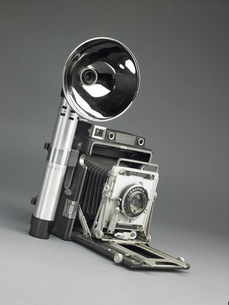 Graflex Speed Graphic 4x5 1940s This Camera Is Part Of