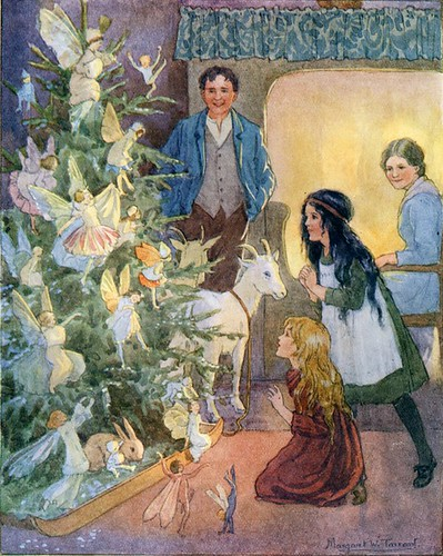Illustration By Margaret Tarrant From In Wheelabout And