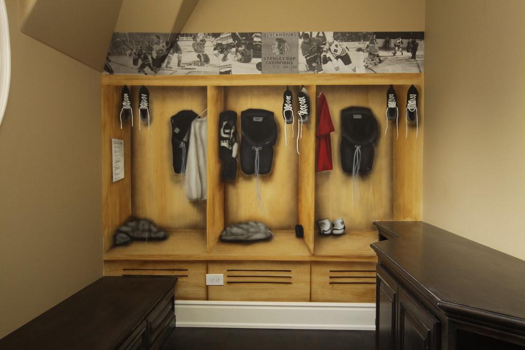 Ideas Hockey Gear Storage Home
