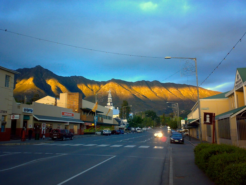 Swellendam Sunset You Finish Your Evening Shopping At