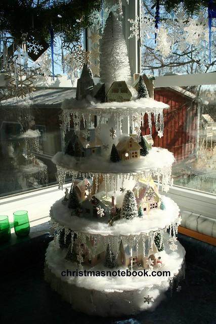 Diy Christmas Village Stand