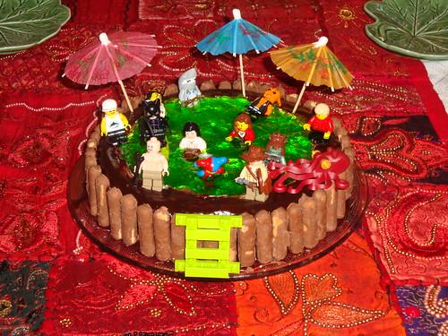 Lego Birthday Cake Swimming Pool Based On The Classic