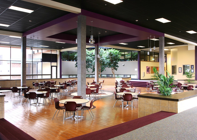 Estes Park High School Commons Area Commons Area At