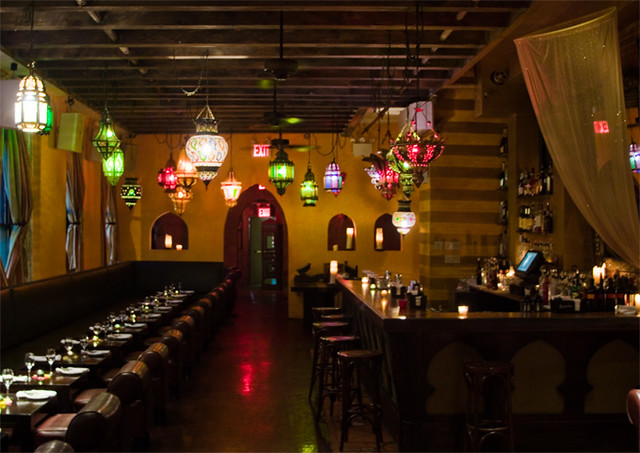 Le Souk Harem Tables A Spin Off Of The East Village