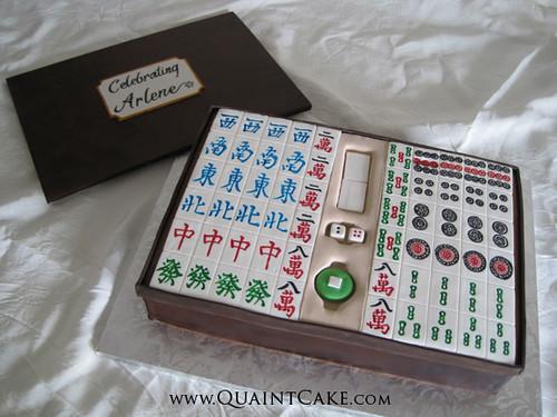 Mahjong Cake Quaintcake Flickr