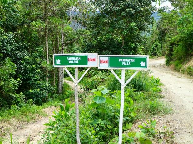 Como llegar a la cascada Pamuayan