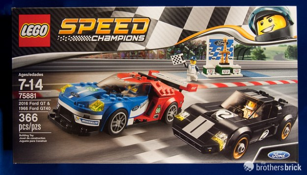 LEGO Speed Champions 2016 Ford GT & 1966 Ford GT40 [Review] | The ...
