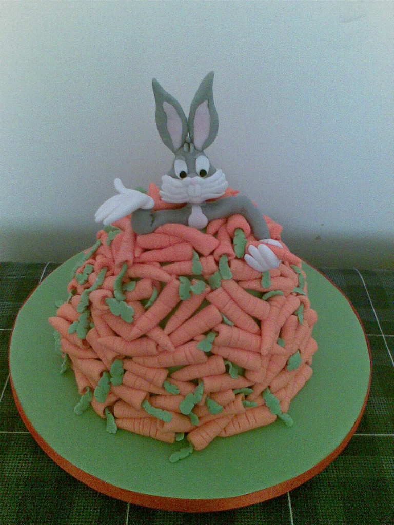 Bugs Bunny Cake I Did This Cake For Fun Another One