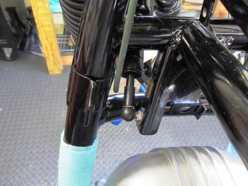 Left Side Master Cylinder Steel Line Routing - Make Sure It Clears the Damper