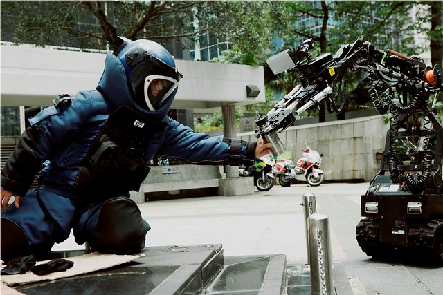 Shock Wave Andy Lau Bomb suit