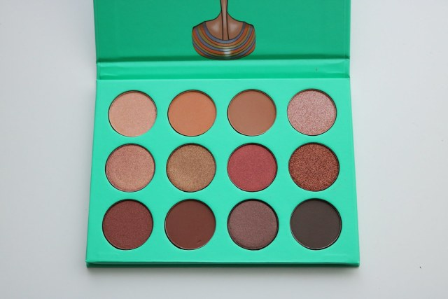 The Nubian palette, open