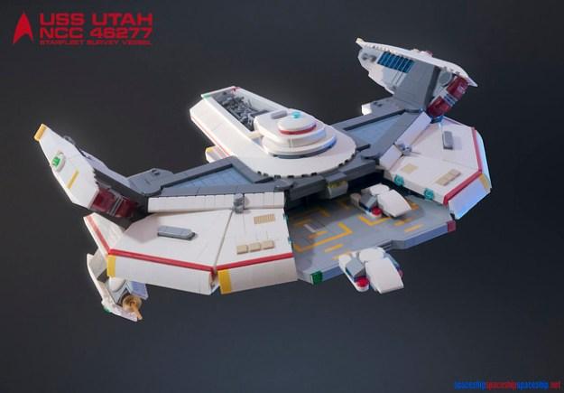 USS Utah NCC 46277 Starfleet Survey Vessel