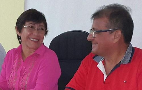 PT em Santarém elege doutora da Ufopa para o comando do partido, Socorro Pena e Juca Pimentel