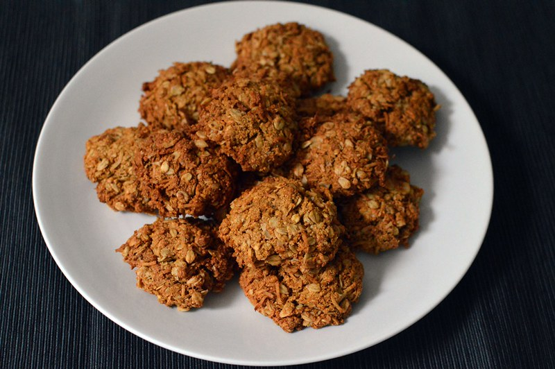 Better Anzac biscuits