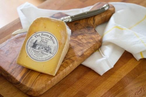 Wedge of Heidi Cheese
