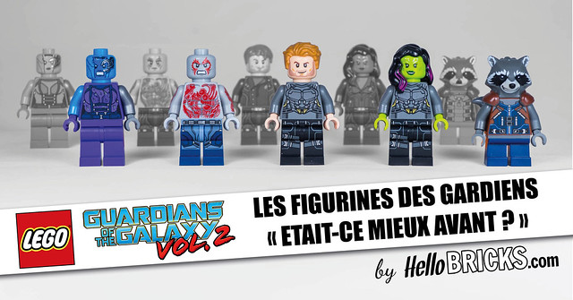 Comparatif Minifigs LEGO Guardians of The Galaxy