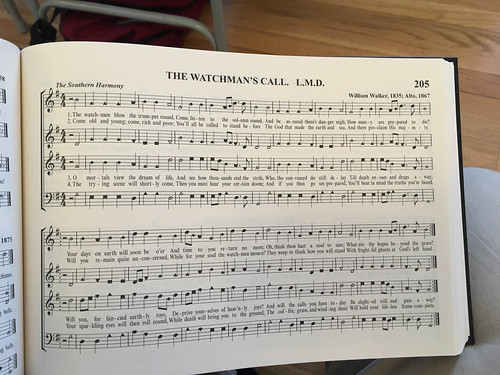 William Walker Memorial Shape Note Singing-10