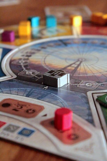 All aboard the Ferris Wheel