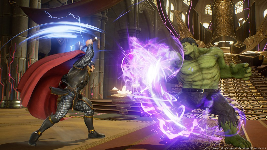 Marvel vs. Capcom: Infinite screenshots